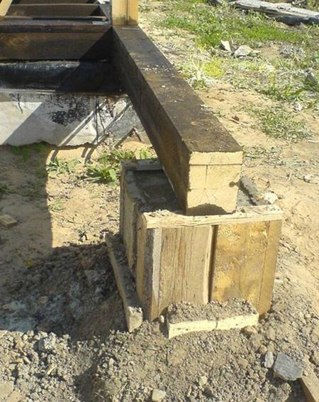 Как построить дом из шпал пошаговая инструкция с 9