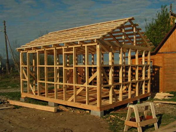 Будівництво каркасно-щитової лазні своїми руками